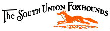 Logo of the South Union Foxhounds with running fox