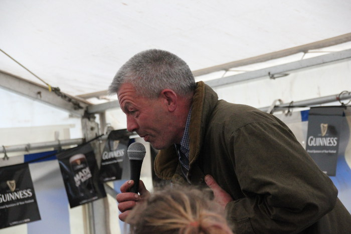 Donal Lordan Clerk of the Course Kinsale Point to Point
